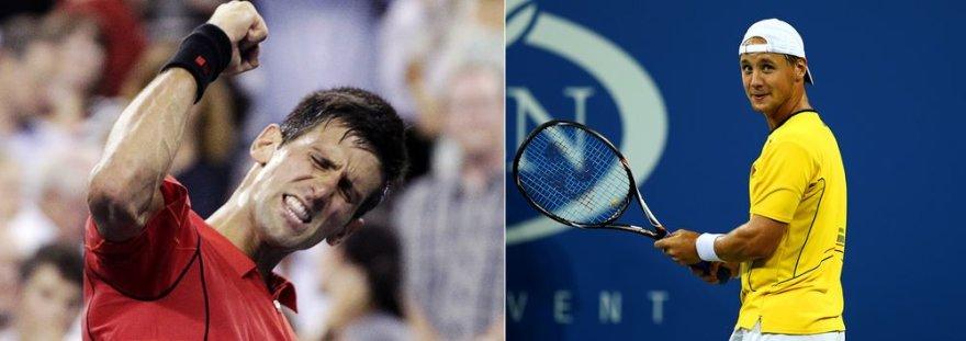 Ričardas Berankis neprilygo Novakui Džokovičiui