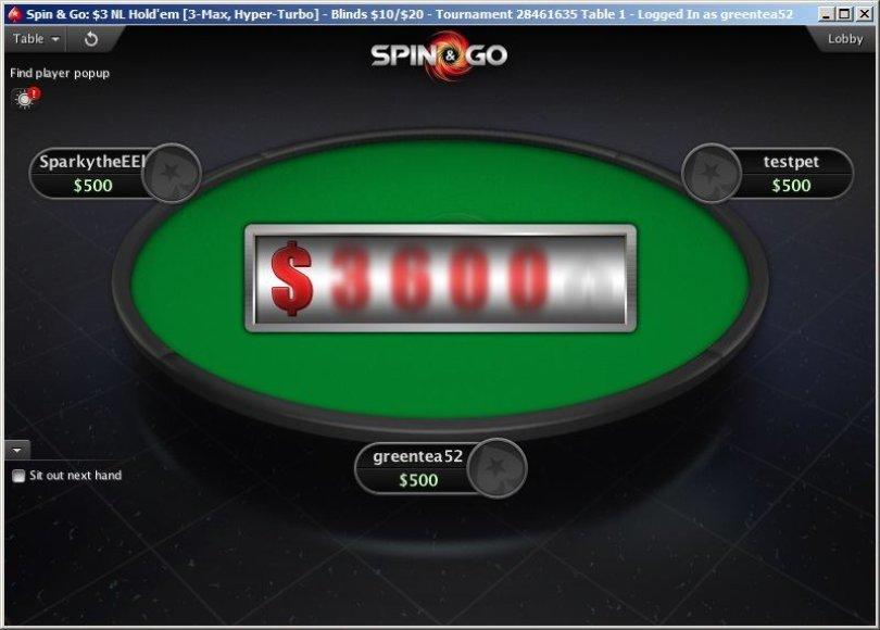 """Kambaryje """"PokerStars"""" sparčiai populiarėja smagus """"Spin & Go"""" turnyrų formatas"""