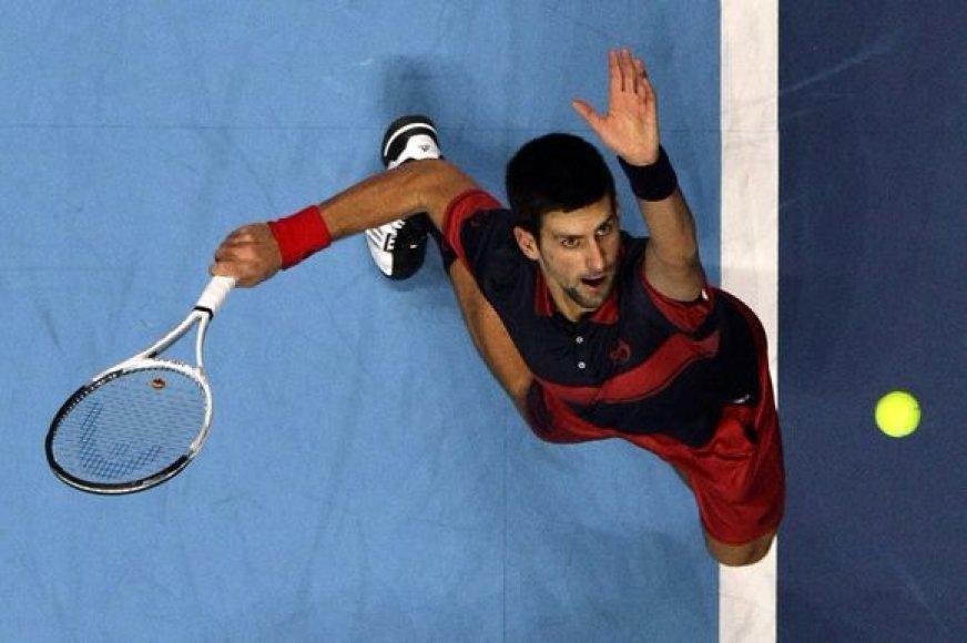 N.Djokovičius – Serbijos teniso rinktinės lyderis