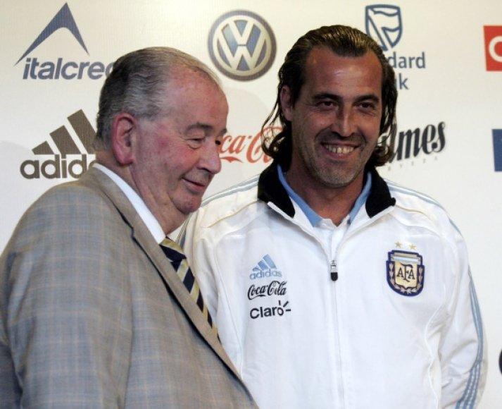 Naujasis Argentinos futbolo rinktinės treneris S.Batista