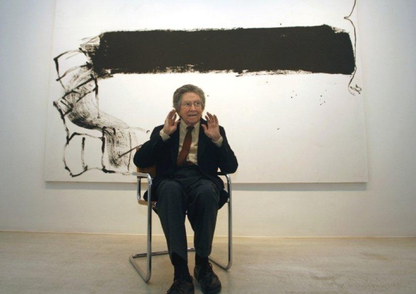 Ispanijos menininkas Antoni Tapiesas