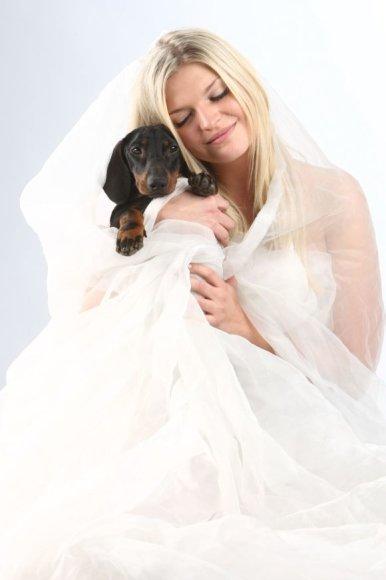 Skaiva ir jos šuo Marselis