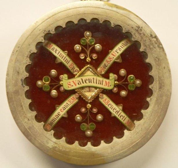 Šv. Valentino relikvija