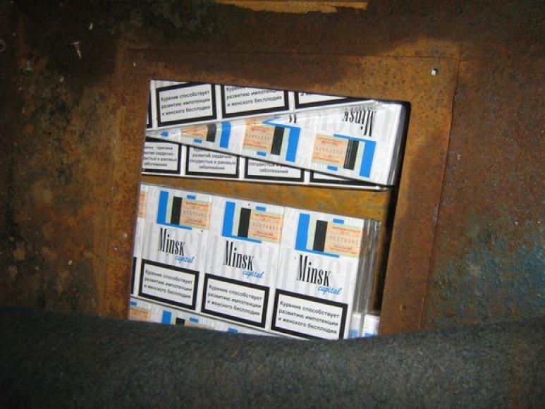 Kontrabandinės cigaaretės