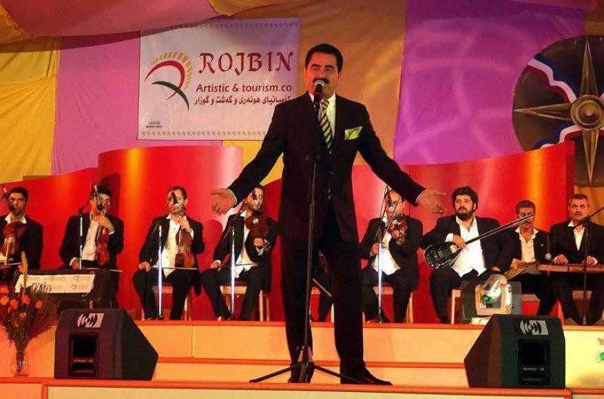 Turkų dainininkas Ibrahimas Tatlisesas