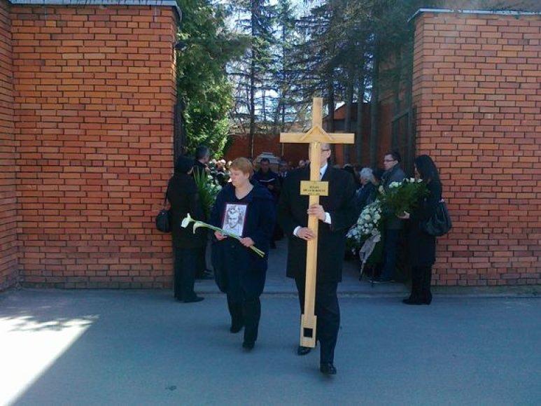 J.Brazauskienės laidutuvės