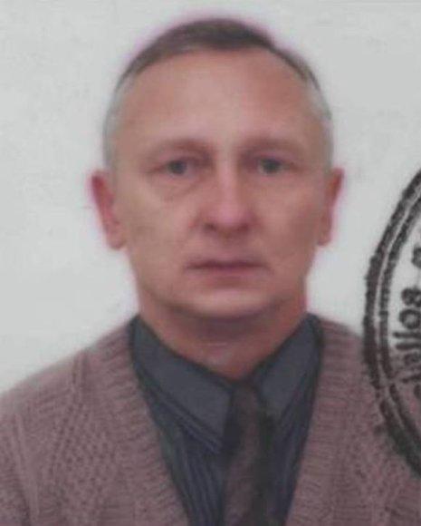 Ieškomas Gintautas Saržickas
