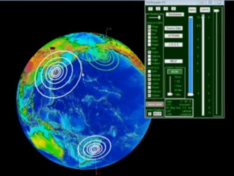 Žemės drebėjimo zonos