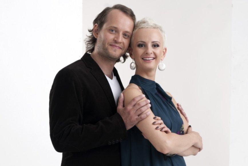 Donatas Bakėjus ir Ieva Šimukauskienė