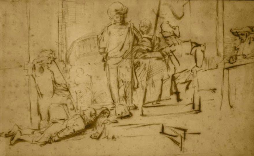 Pavogtas Rembranto paveikslas vertas 250 tūkst. dolerių.