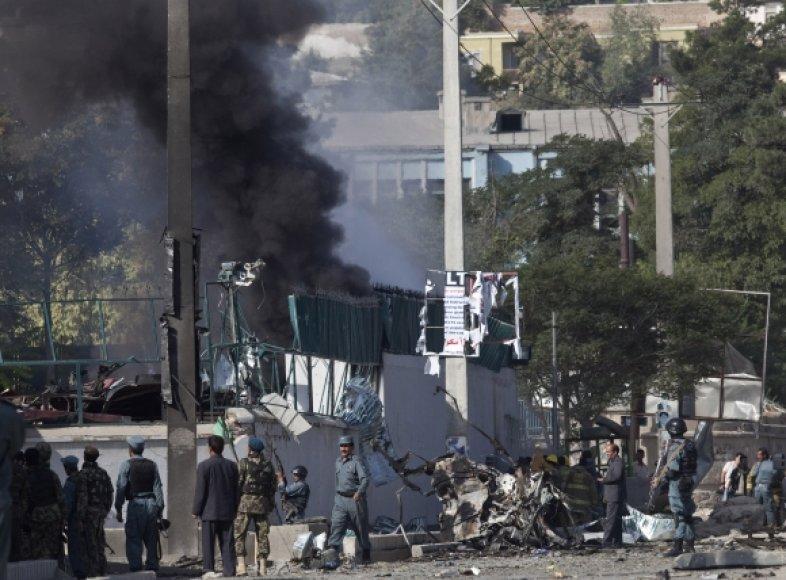 Išpuolis Kabule.