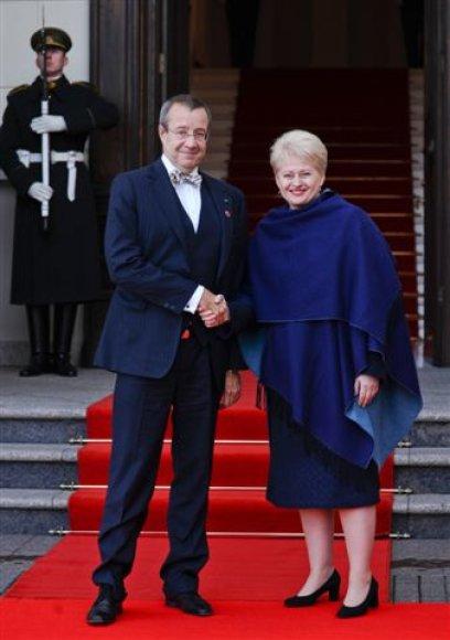 Estijos prezidentas patvirtino dalyvavimą Visagino AE statybos projekte.