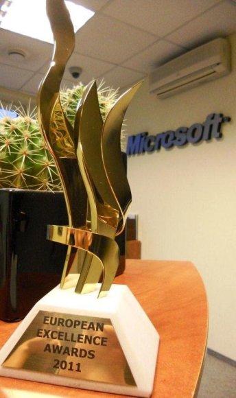 """""""European Excellence Awards"""" apdovanojimas"""