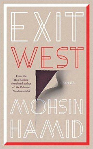 "Knygos viršelis/Knyga ""Exit West"""