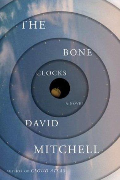 """Knygos viršelis/Knyga """"The Bone Clocks"""""""