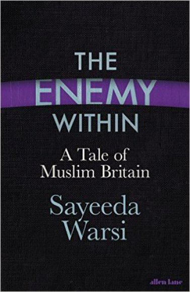 """Knygos viršelis/Knyga """"The Enemy: Within A Tale of Muslim Britain"""""""