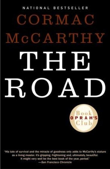 "Knygos viršelis/Knyga ""The Road"""