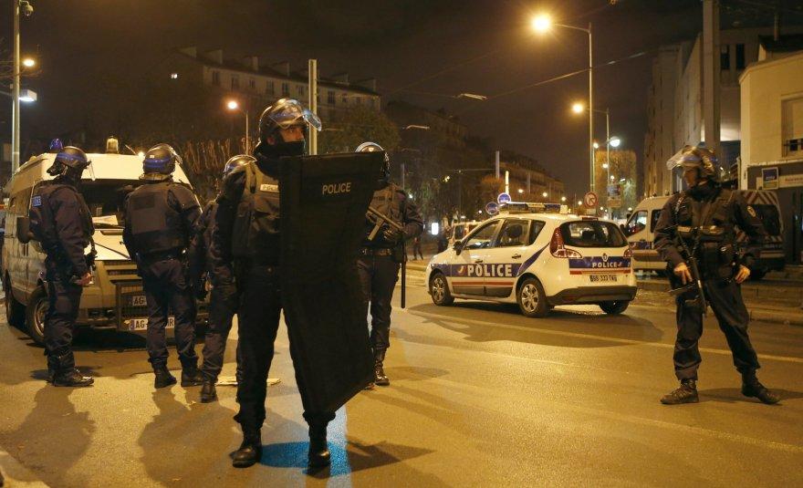 """Reuters""/""Scanpix"" nuotr./Neramumai Paryžiuje"