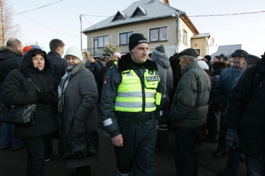 Susirinkusi minia išreikė paramą Neringai Venckienei