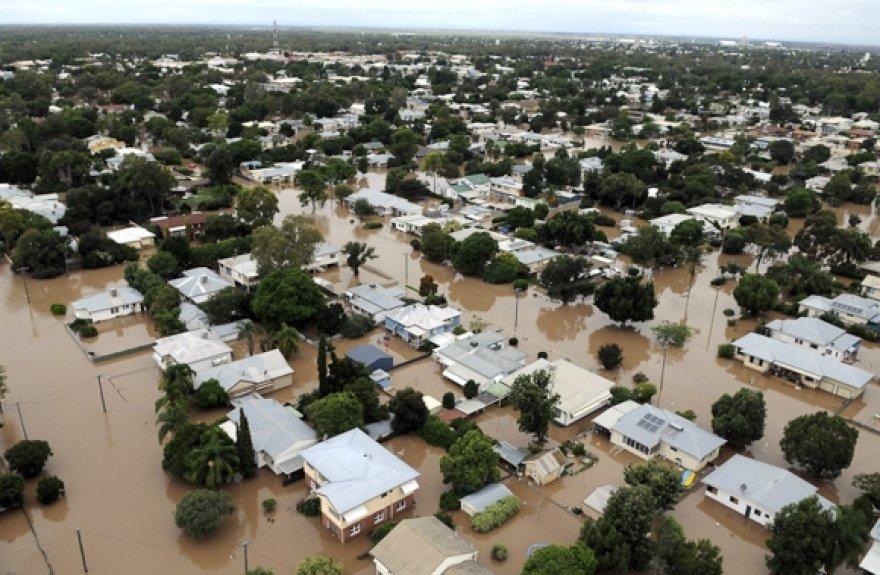 Po vandeniu atsidūrė ūkiai ir namai
