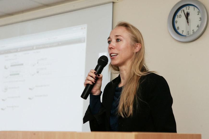 Šiaulių universitete vyko diskusija apie korupciją Lietuvoje.