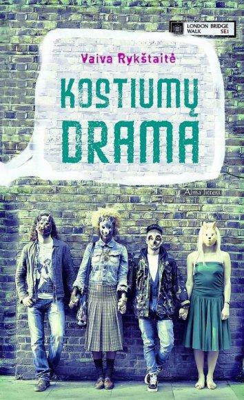 """Knyga """"Kostiumų drama"""""""