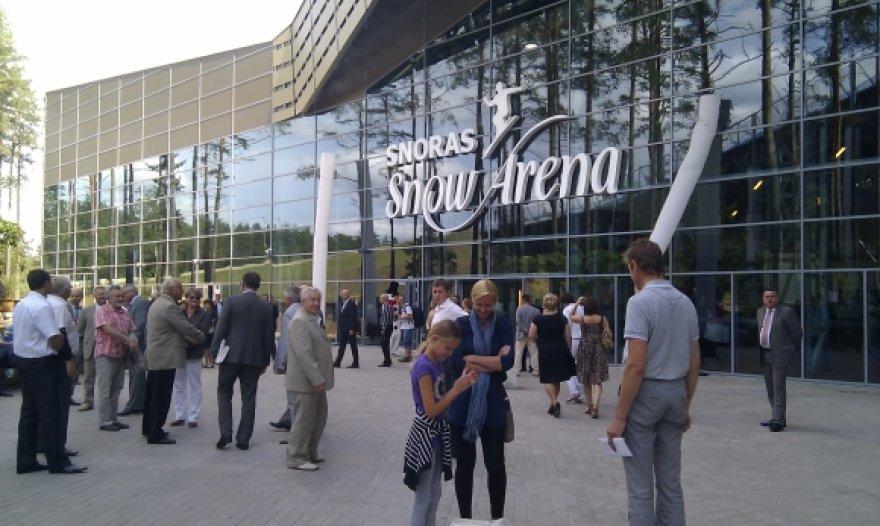 """Druskininkuose atidaryta """"Snoras snow arena"""""""
