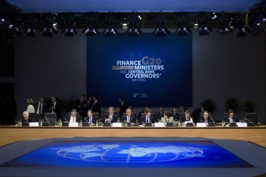 G-20 susitikimas.