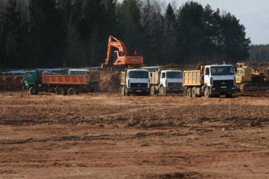 Astravo AE statybos