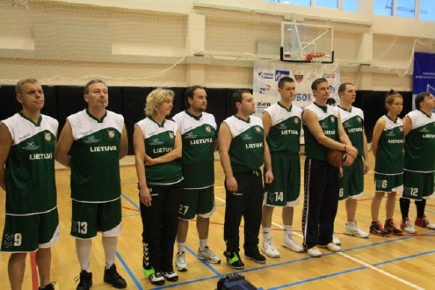 Lietuvos žurnalistų krepšinio komanda