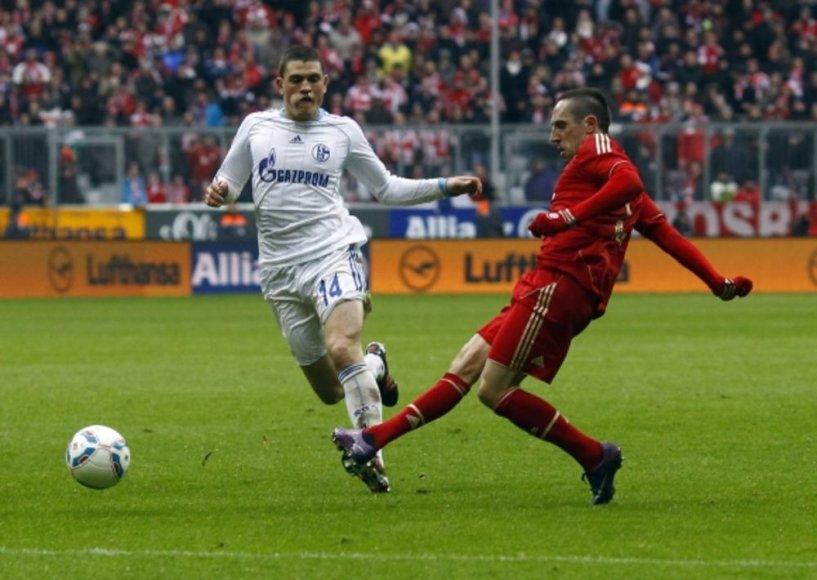 Šis Franko Ribery smūgis atnešė įvartį