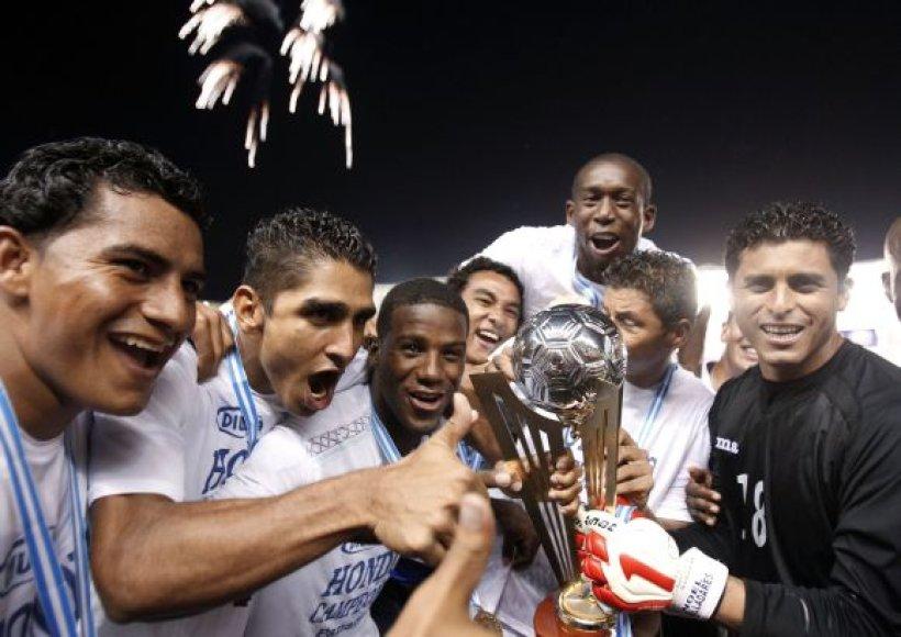 Hondūro futbolininkų triumfas