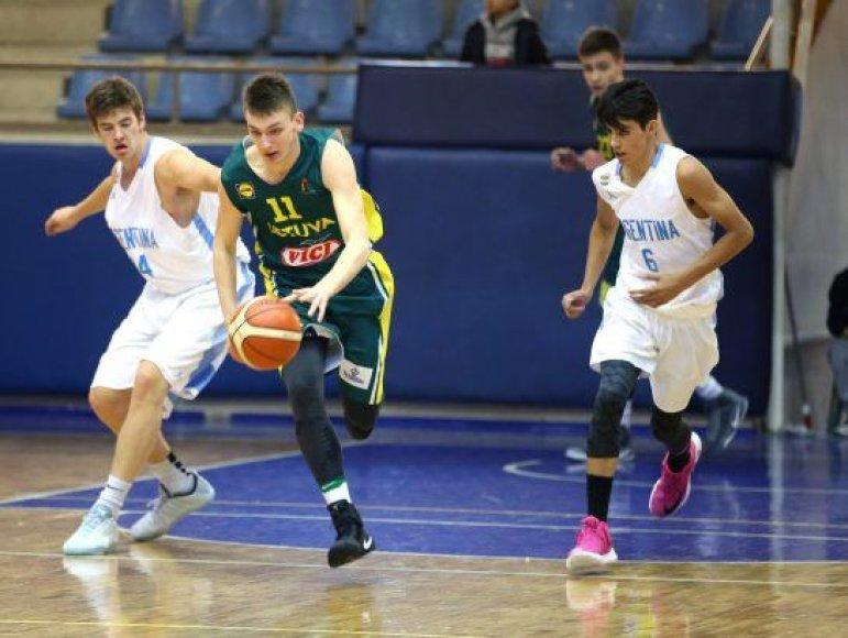 Ahmet Tokyay nuotr. /Lietuvos U-16 rinktinė