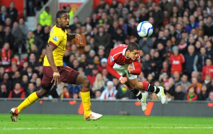 """Manchester"" – ""Arsenal"" rungtynių akimirka"