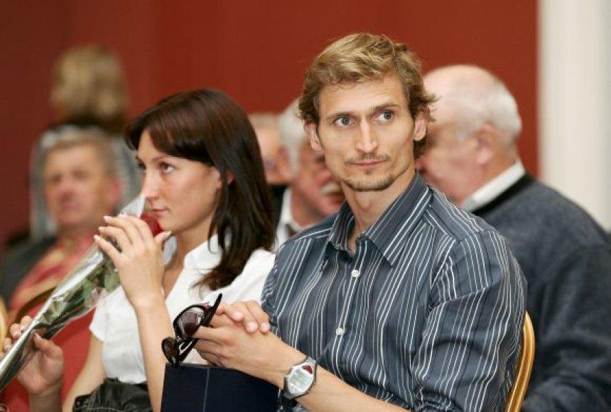 Donata Rimšaitė ir Edvinas Krungolcas