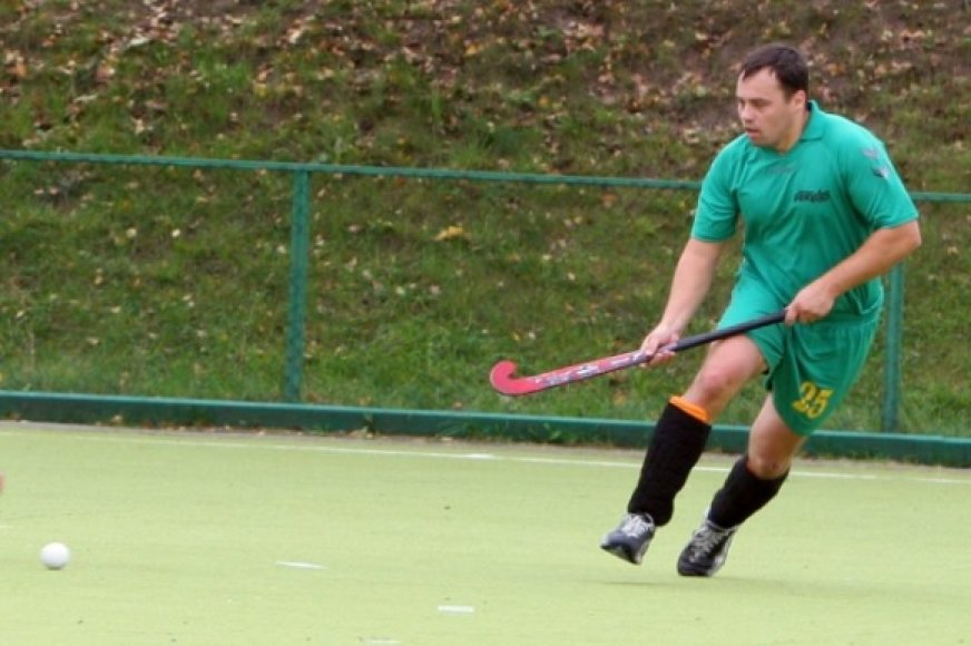 """Geriausias 2010 m. Lietuvos žolės riedulininkas Darius Preidis (Vilniaus SK """"Ardas-Rudamina"""")"""