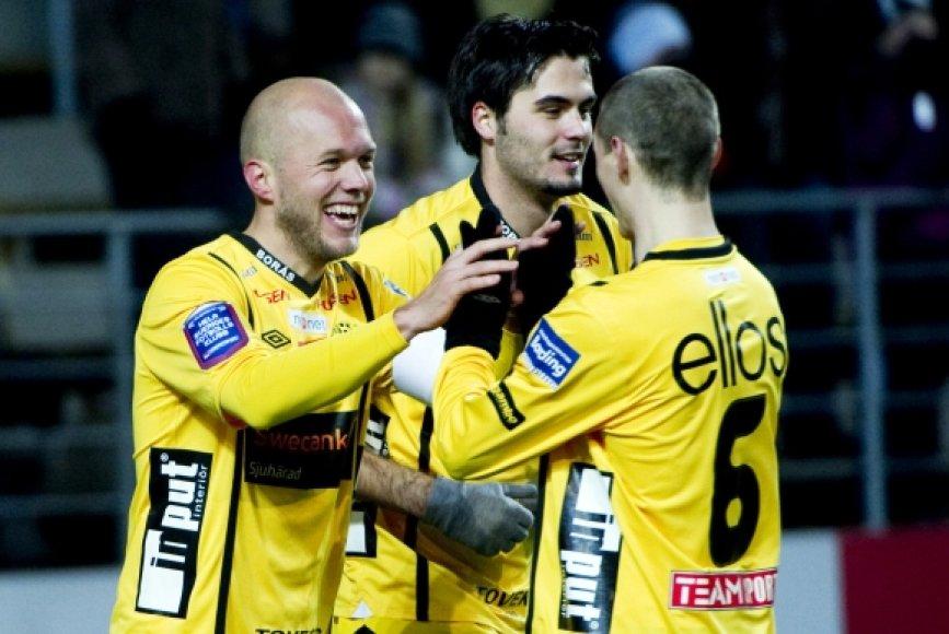 """""""IF Elfsborg"""" futbolininkai"""