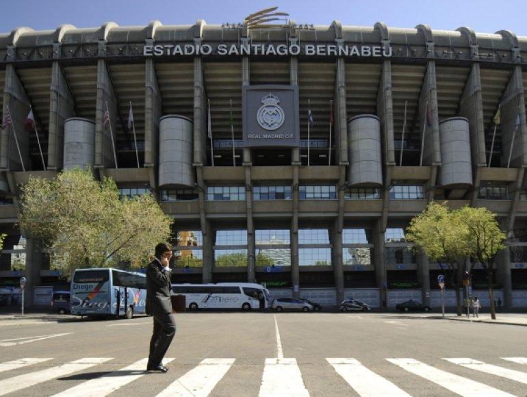 Santiago Bernabeu stadionas
