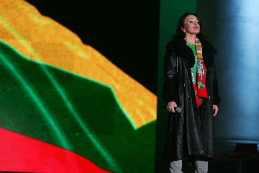Per Europos čempionatą bus grojami nesutrumpinti himnai