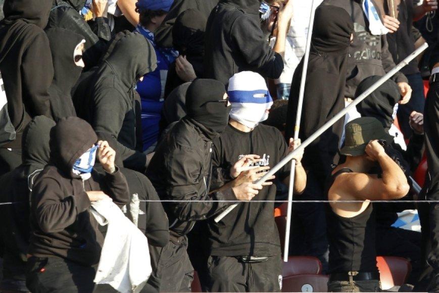 Kaukėti futbolo chuliganai