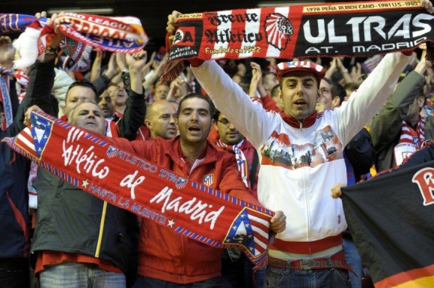 """""""Atletico"""" komandos gerbėjai"""