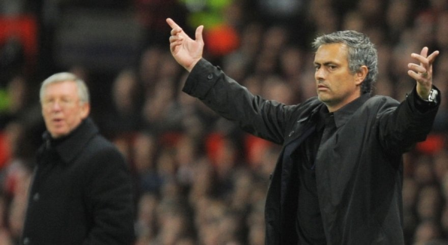 Alexas Fergusonas ir Jose Mourinho
