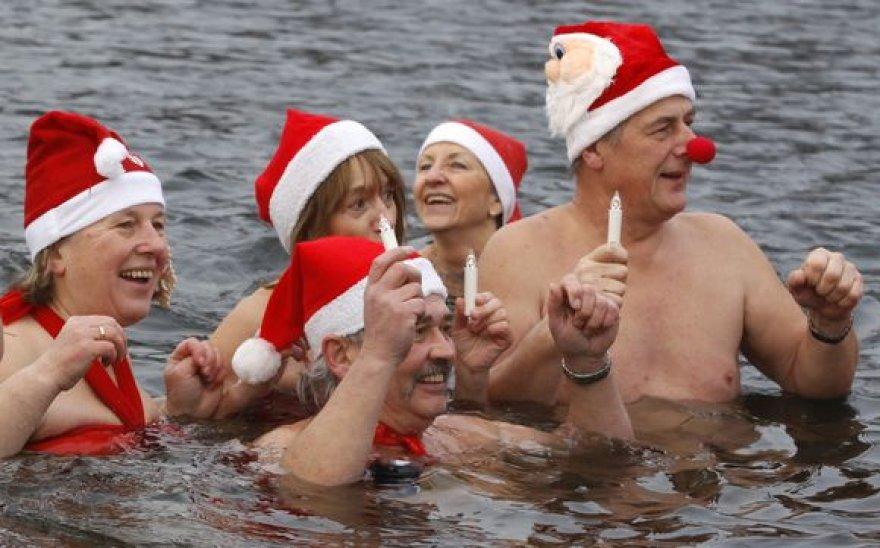 Kalėdinės maudynės Berlyne
