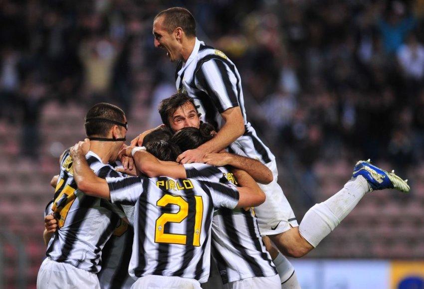 """Turino """"Juventus"""" futbolininkų džiaugsmas"""