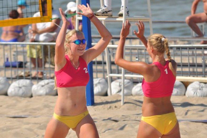 Europos U18 paplūdimio tinklinio čempionatas Lietuvoje vyks pirmąkart