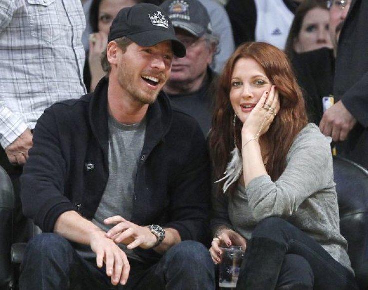 Aktorė Drew Barrymore su Willu Kopelmanu Los Andžele