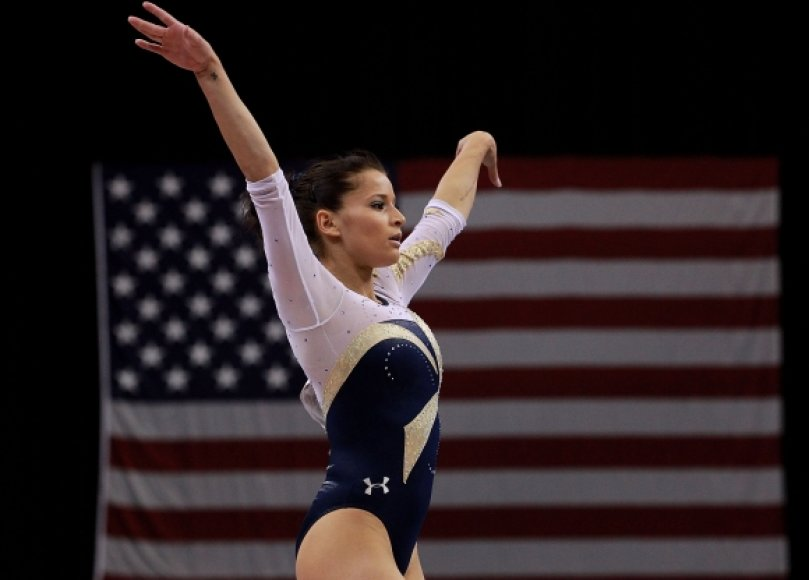 Gimnastė Alicia Sacramone