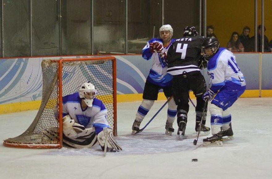"NLRL: ""Hockey punks"" ir ""Ice wind"" komandų dvikova"