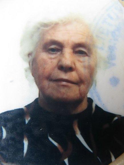 Ieškoma dingusi senolė Milda Valionienė.