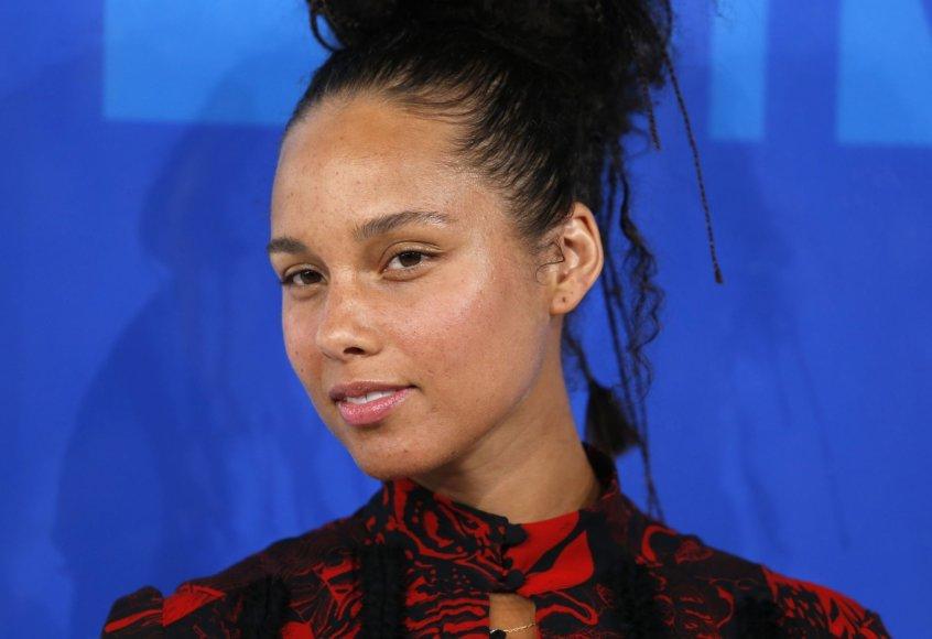 """Reuters""/""Scanpix"" nuotr./Alicia Keys"
